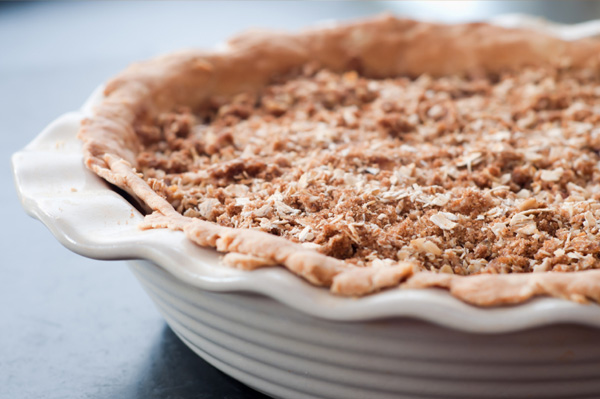 Perfect pear crisp (think ahead to Thanksgiving)!