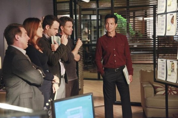 It's Fantasy Sperm Ball night on Private Practice: 
