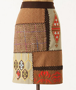 Quiltwork skirt