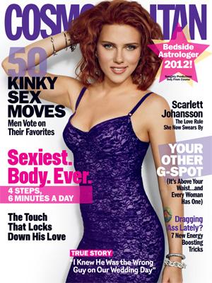 Scarlett Johansson in Cosmo