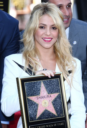 Shakira Hollywood Walk of Fame