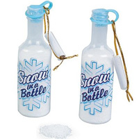 Snow in a Bottle powder candy, set of 12 (Oriental Trading Company, $7)