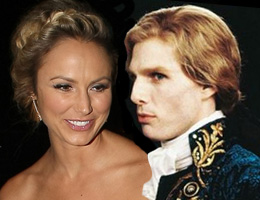 Stacy Keibler and Lestat