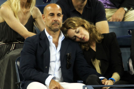 Stanley Tucci will be in Emily Blunt's family
