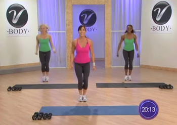 Stephanie Vitorino's Interval Exercise