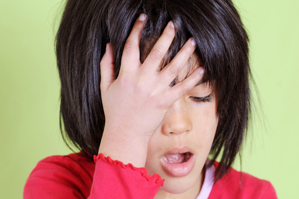 Kids feel holiday stress, too