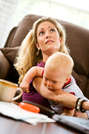 How moms can ease their minds