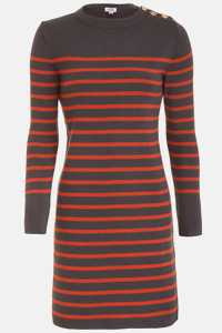 Say yes to stripes sweater dress