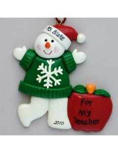 Teacher's Christmas Ornament