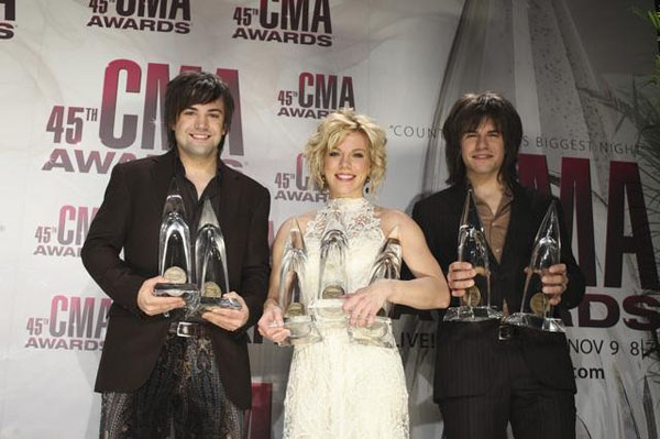 The Band Perry at the 2011 CMA Awards