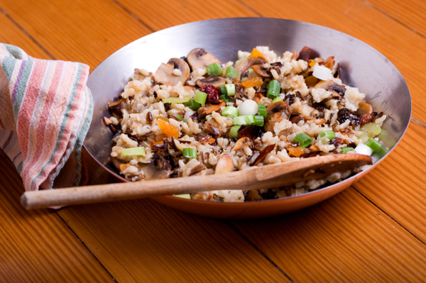 Wild rice Thanksgiving side dish