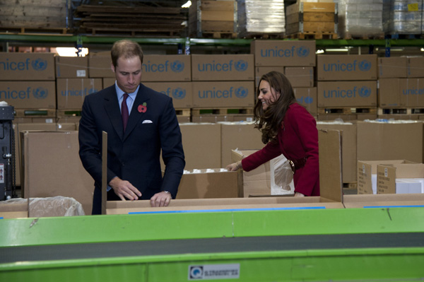 William and Kate help East Africa crisis