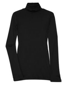 Our pick: Black cotton and modal blend turtleneck top (net-a-porter.com, $53)