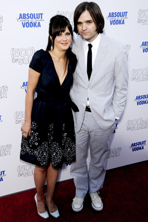 Zooey Deschanel and Ben Gibbard split