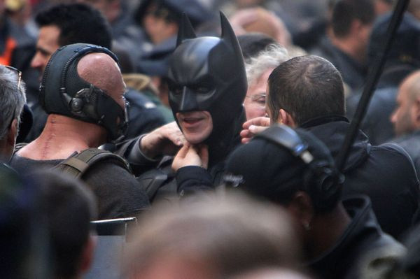 First Look at Batman Finale