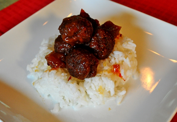 Meatballs get a Chinese twist