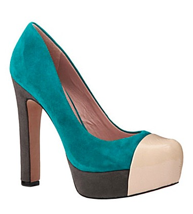 colorblock pumps