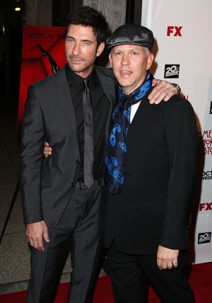 Dylan McDermott and Ryan Murphy