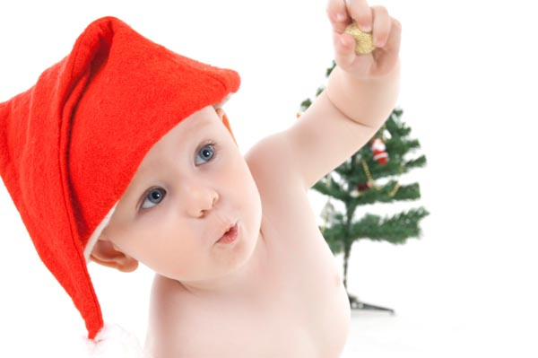 Christmas baby-proofing tips