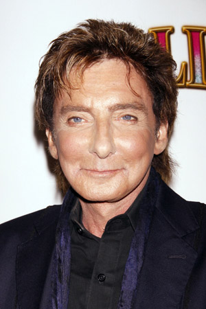 Barry Manilow off-stage for six weeks