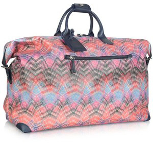 Travel bag in bright Missoni print (forzieri.com, $525)