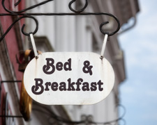 Bed and breakfast getaway