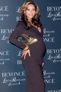 Beyonce pregnant bump