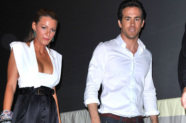 Blake Lively and Ryan Reynolds go to Canada