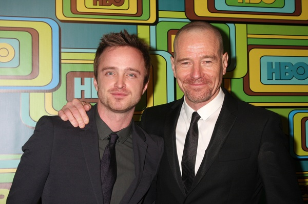 Breaking Bad, Aaron Paul and Bryan Cranston