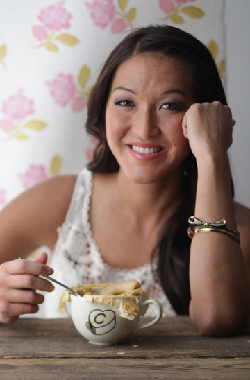 Healthy living tips from Candice Kumai