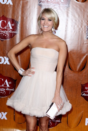Carrie Underwood at the American Country Awards