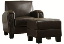 HomeSullivan Chair and Ottoman Set