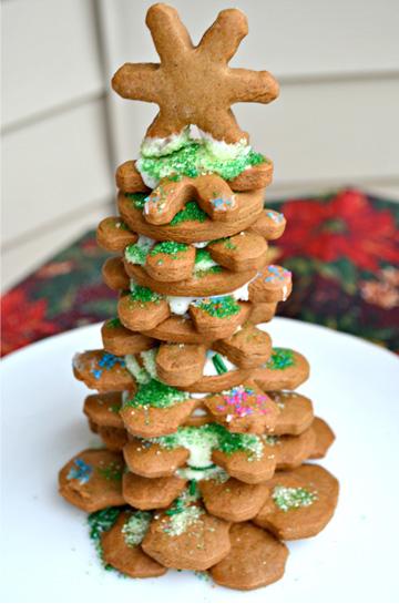 Edible Christmas tree