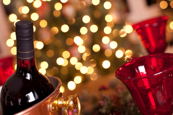 Christmas wine