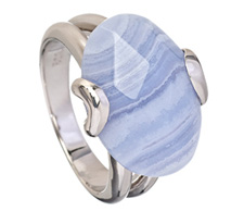 Cordova Blue Lace Agate Ring