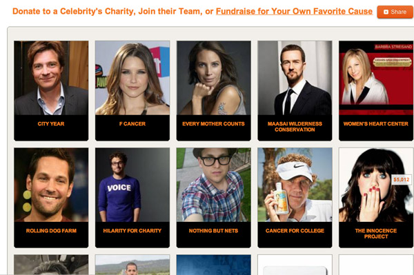 CrowdRise and Mozilla reveal celebrity fundraiser