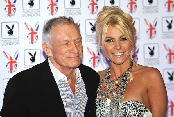 Hugh Hefner and Crystal Harris were one of many celebrity breakups in 2011