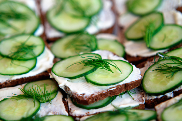 Cucumber dill crackers