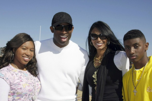 Deion Sanders family