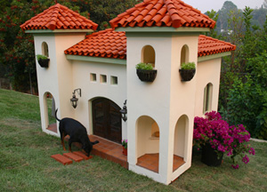 Haute hacienda for posh pooches