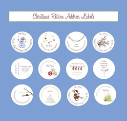 Etsy Christmas return labels