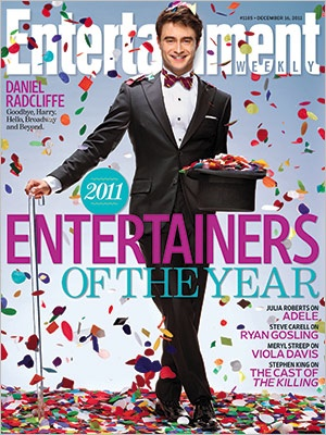Daniel Radcliffe is the Entertainer of the Year