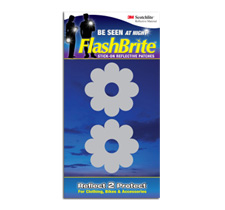 Flashbrite Reflective Stick-On Patches