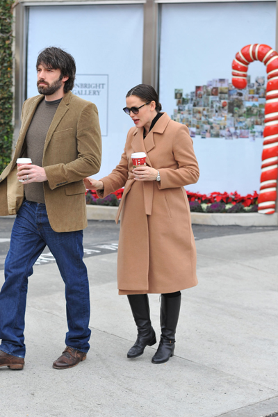 Pregnant Jennifer Garner and Ben Affleck