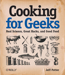 Cookbook for geeks