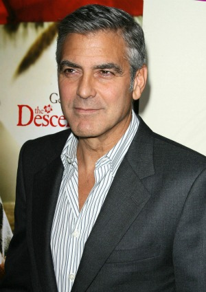 George Clooney's furry friend