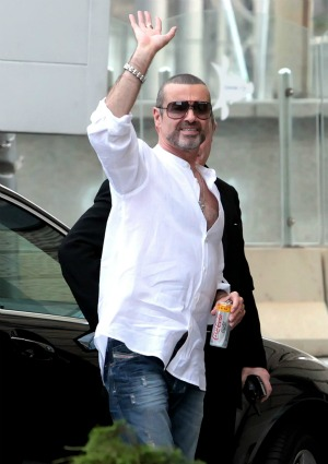 George Michael lives to dance again