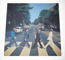 Beatles Abbey Road canvas wall art