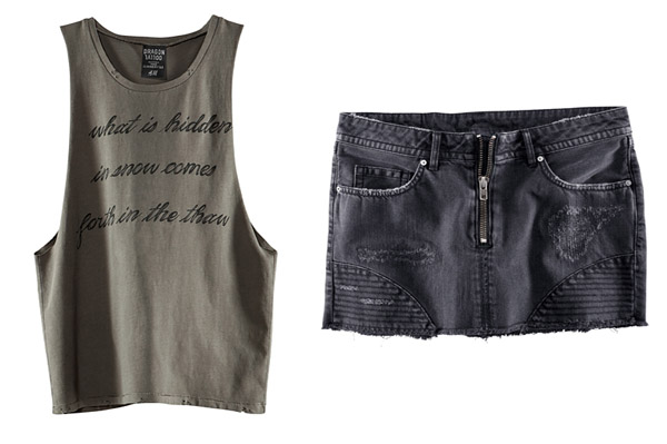 H&M goes edgy with movie-inspired line