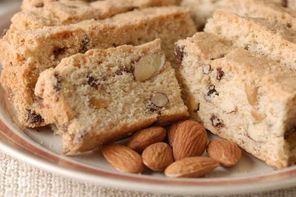 Gluten-free almond biscotti
